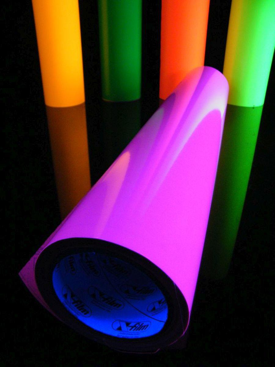10m rolle schwarzlicht folie selbstklebend neon pink 61cm. Black Bedroom Furniture Sets. Home Design Ideas