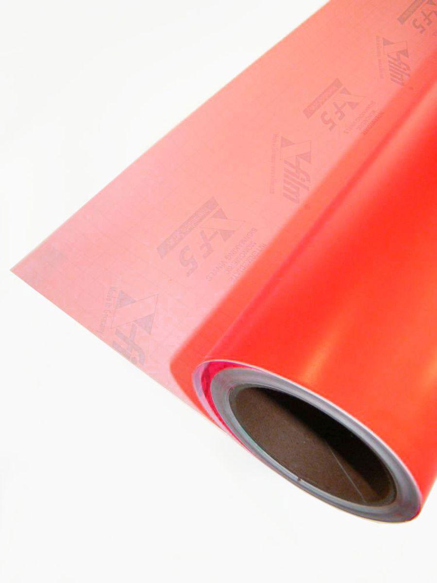 10m-rolle schwarzlicht folie selbstklebend neon rot, 61cm