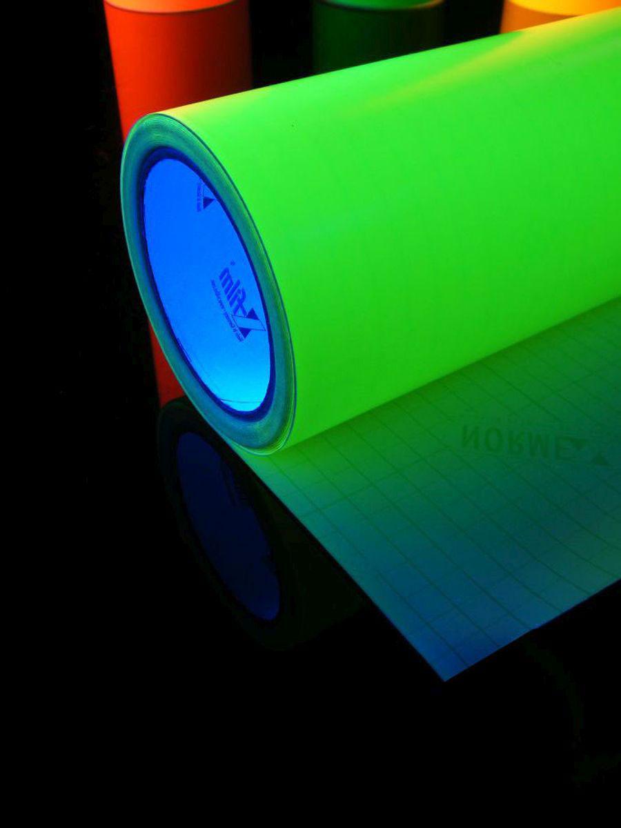 1lfm psywork schwarzlicht folie selbstklebend neon gelb, 61cm