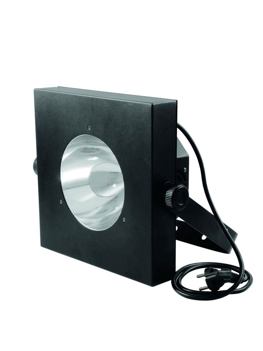eurolite schwarzlicht cob led spot 60w inkl fb. Black Bedroom Furniture Sets. Home Design Ideas