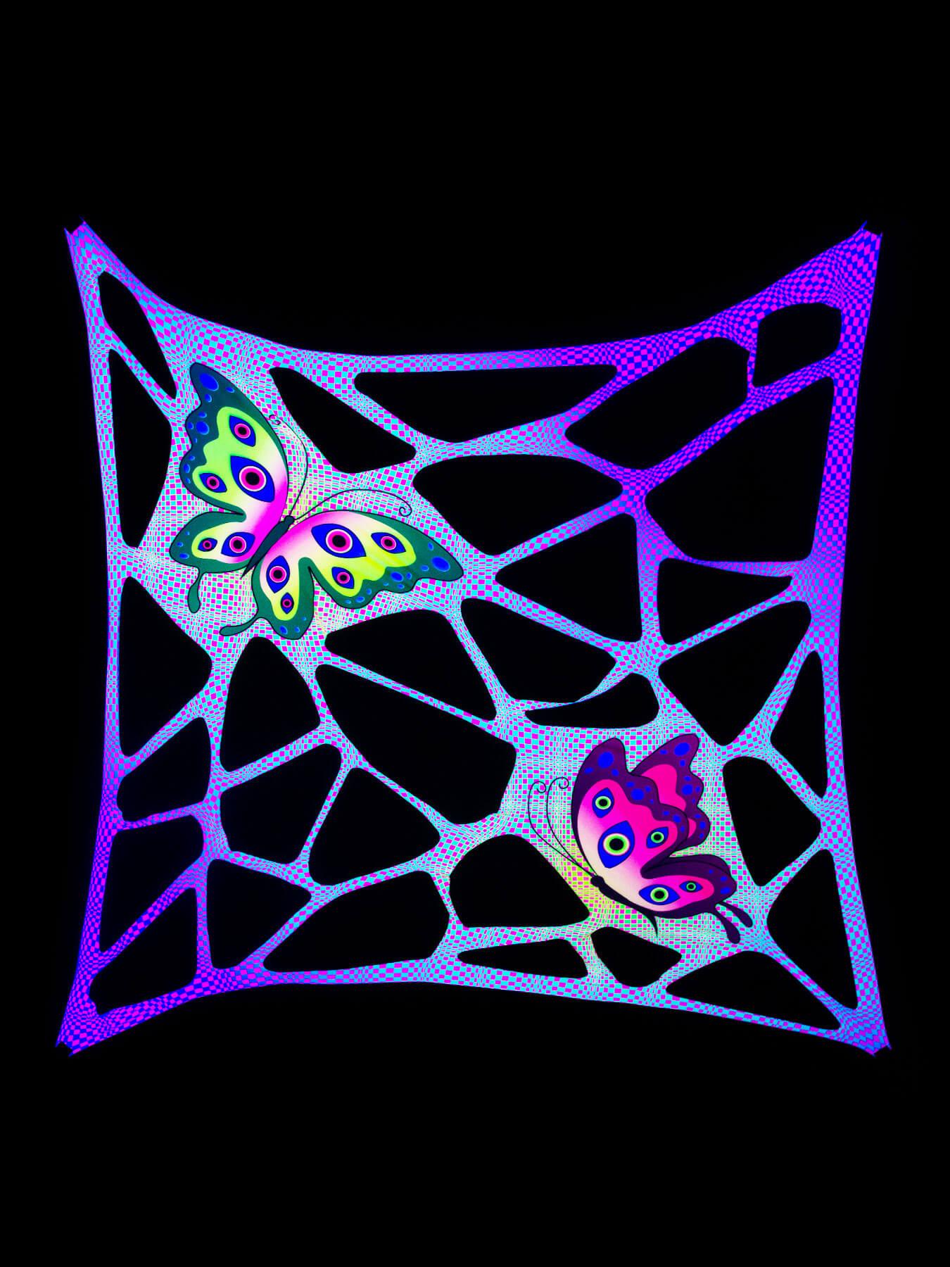 psywork schwarzlicht segel spandex goa psychedelic. Black Bedroom Furniture Sets. Home Design Ideas