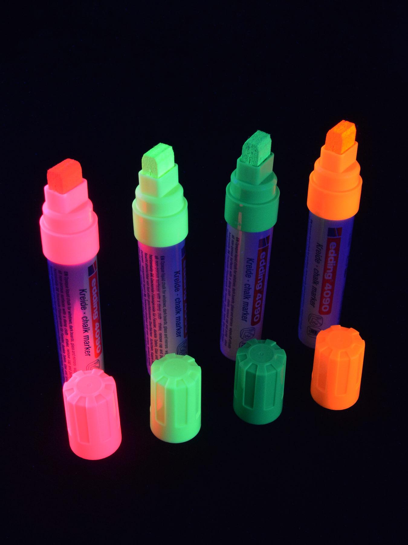 GRAFX Schwarzlicht UV-Fluorescent Pump Softliner Neon Stift Graffiti